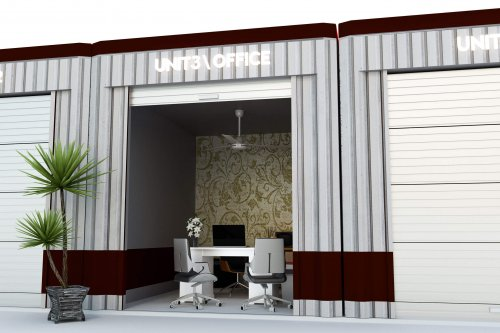 a self storage office